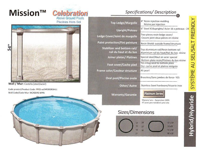 Piscines piscine piscinelamothe piscine installation et vente piscine - Model de piscine creuse ...
